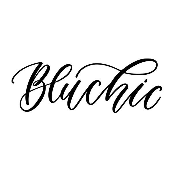 hand-lettered logos | Bluchic