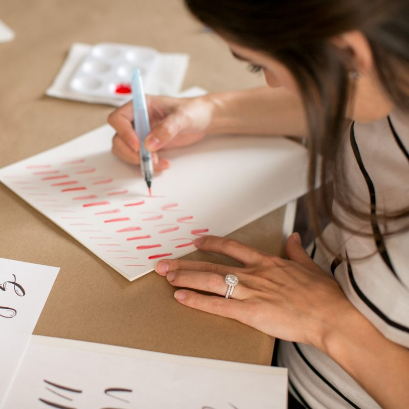 Online Beginners Hand-lettering workshop | Lauren Heim Studio