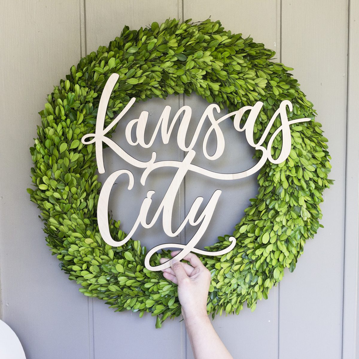 Kansas City Laser Cut Sign