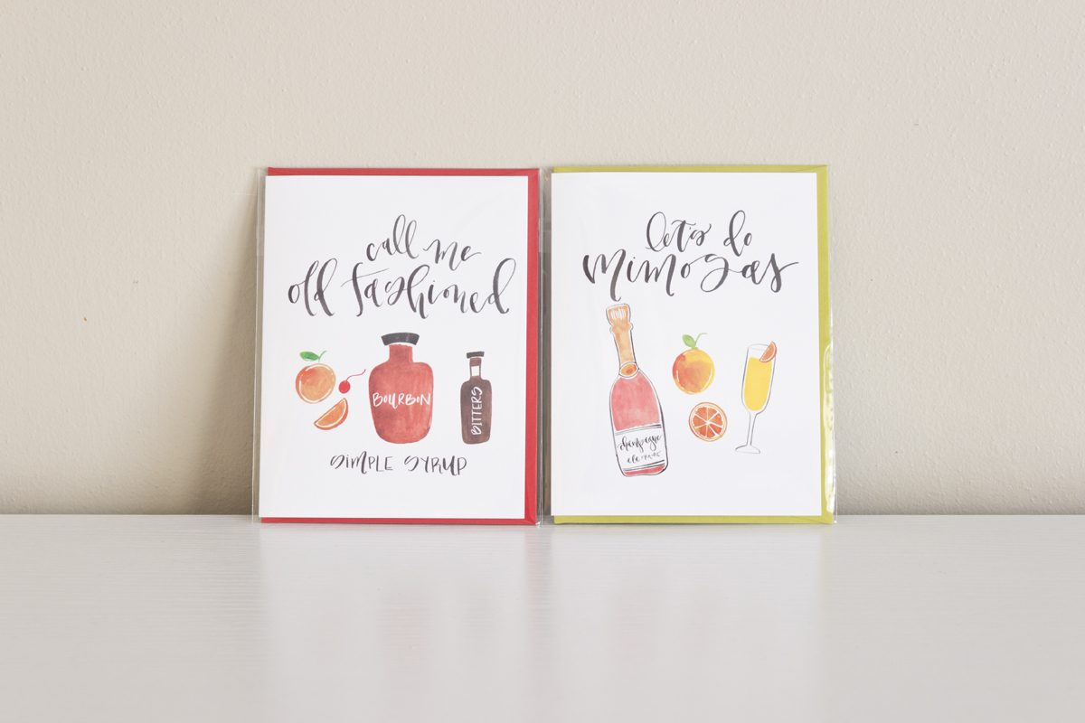 Call me old fashioned lets do mimosas cards 4 pack call me old fashioned lets do mimosas greeting cards kristyandbryce Image collections