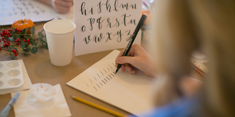 Upcoming In-Person Beginner's Brush Lettering 101 Workshops