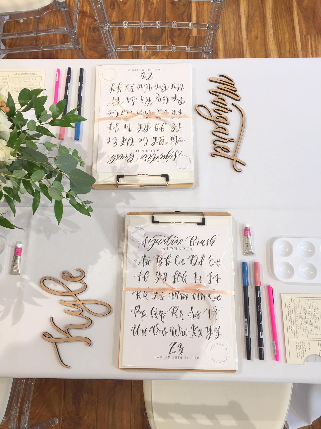 Brush Lettering 101 Holiday Workshop | West Elm 12/3