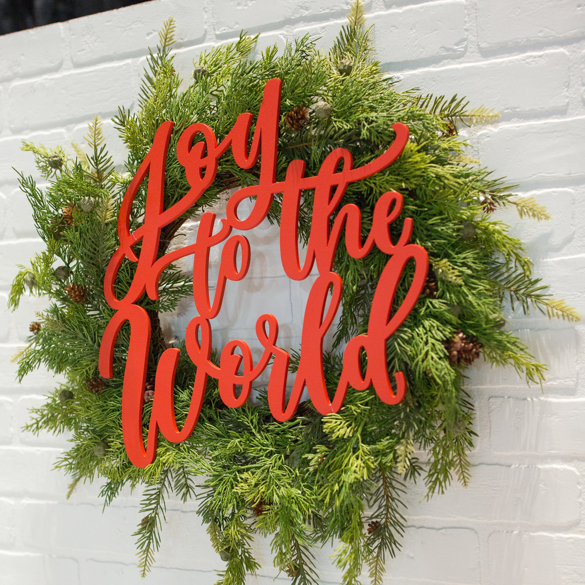 Joy to the World Holiday Sign