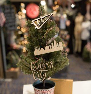 Kansas City Ornament Set