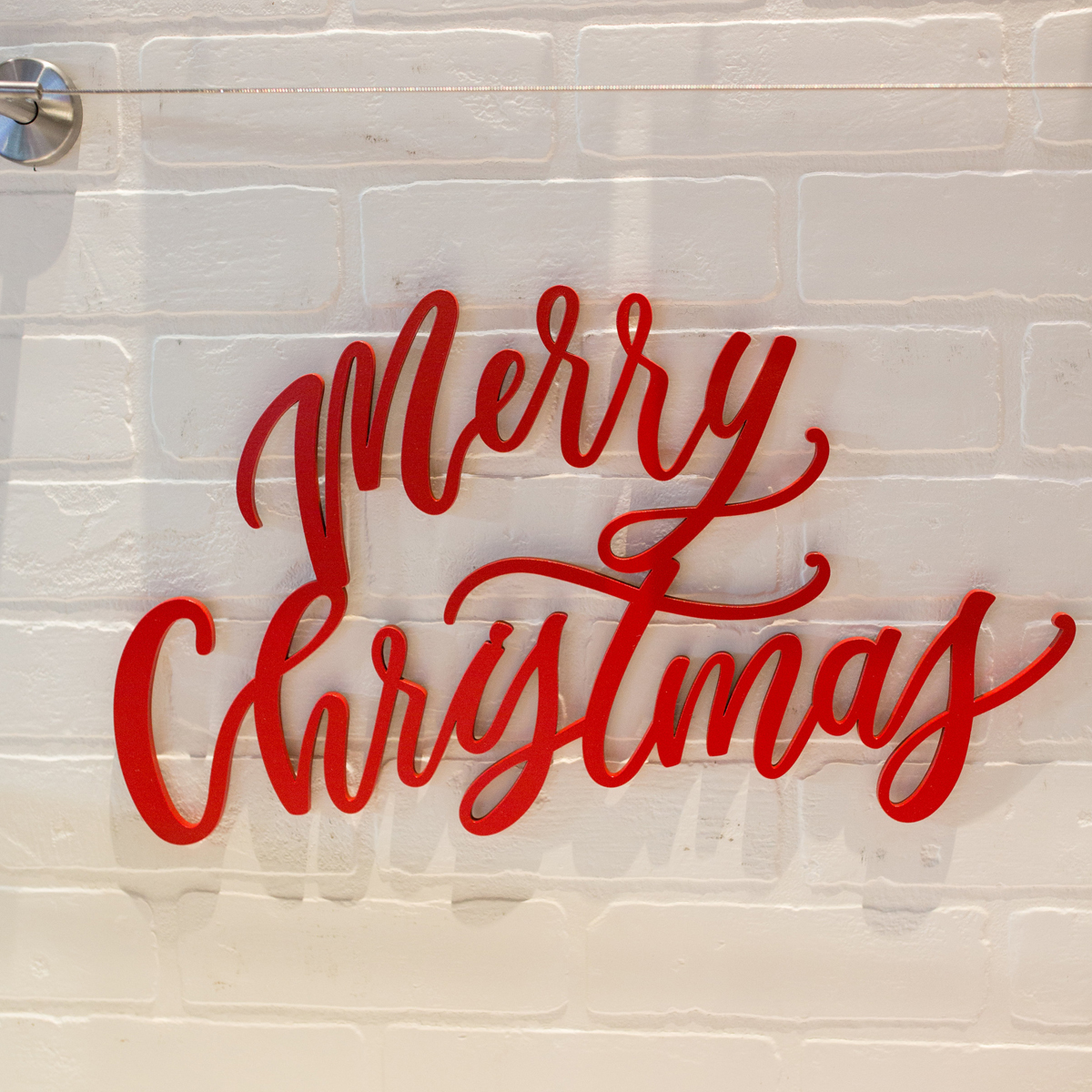 Merry Christmas Holiday Sign