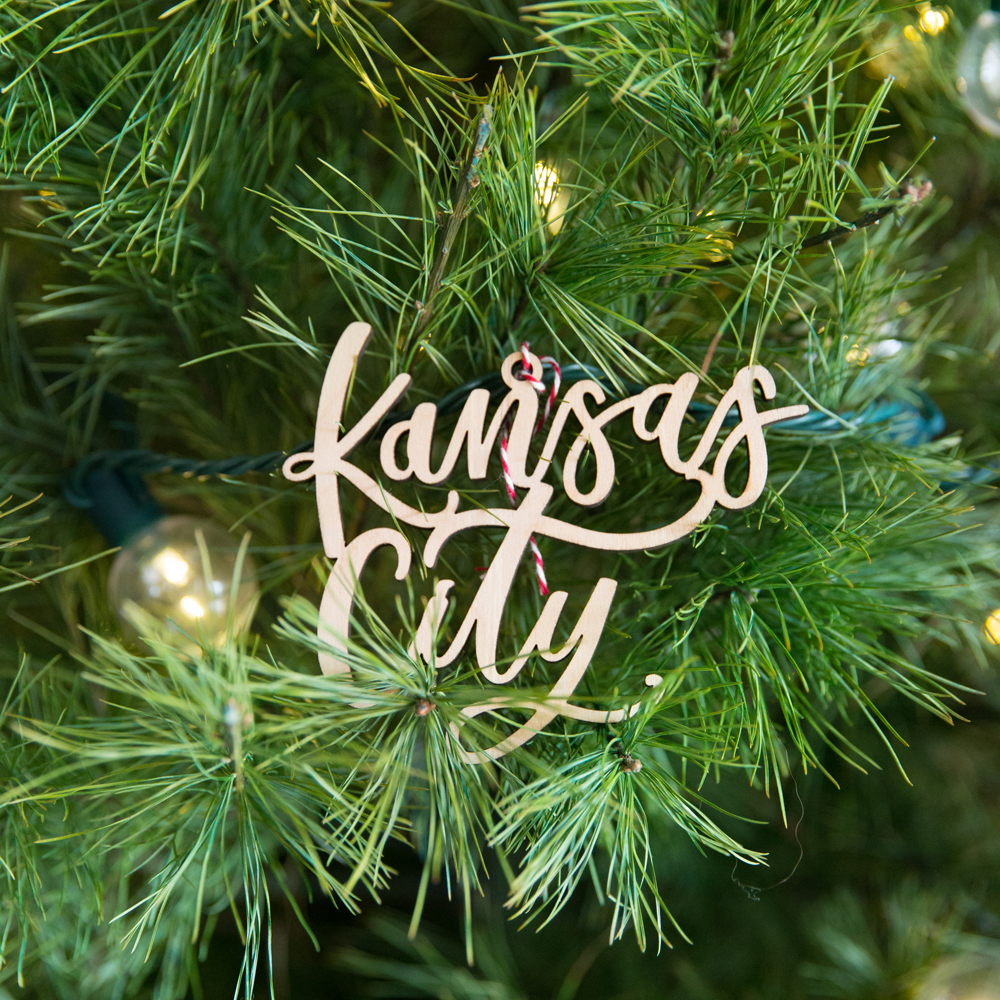 Kansas City ornaments for your Christmas Tree