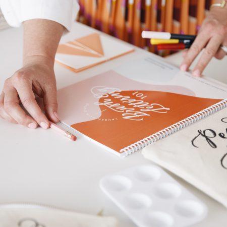 Learn modern hand-lettering from Lauren Heim